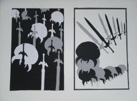 Metroid and Master Sword Composition by ChozoBoy