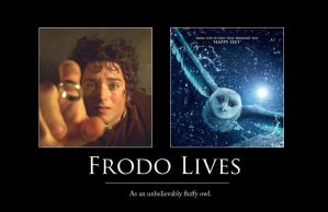 Frodo Lives Motivator by vifetoile