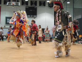 Indian Pow Wow Dance by SailorUsagiChan