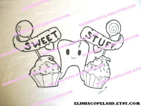 Sweet Stuff Shirt Design by elishacopeland