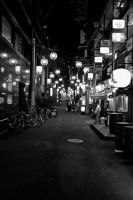 Osaka Back Streets by resbian2002