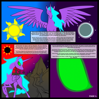 The Knights of Harmony Page 1 by TITANOSAUR