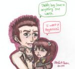 Severa and her Daddy by cleris4ever