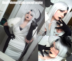 Colossalcon Absol Gijinka Cosplay by AceroTiburon