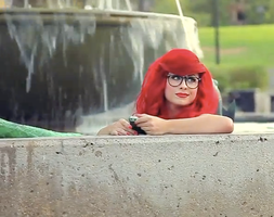 Hipster Mermaid by TheRealLittleMermaid
