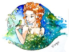 Zodiac: Virgo by AnnyTwinkle