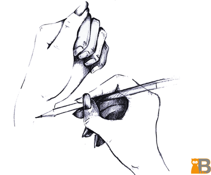 Mixed Drawing - Black Pencil by TheDesignRacoon