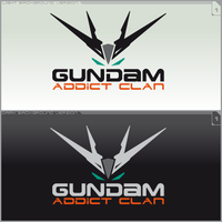 Logo Gundam Addict Clan Ver.1 by ogamitaicho