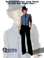 Renee Montoya-The Question by tsbranch