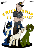 Frienship its Crazy by wolfjedisamuel