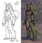 Collaboration: Ape Alien Chief - Concept by Fiji-Fujii