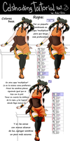 Cell shading tutoril 3 - clothes by AderiAsha