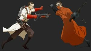 Commish:Medic vs Steinman by doubleleaf