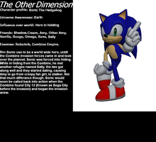 The Other Dimension Profile: Sonic by Glaber
