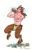 For Jessica: Merry Faun by ChocolateIsForever