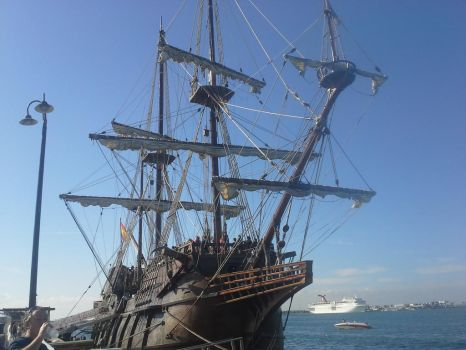 El Galleon 1 by StrangeGale