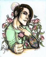 Davey and the Roses by Anarchpeace