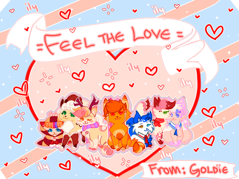 Happy Day Of Love by gol-die-loxx