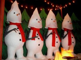 The Snow Klansmen Four by Keith-McGuckin
