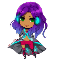 Chibi Commish: Nora by chuwenjie