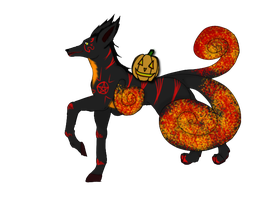 Rokishu Halloween Adopt [Closed] by GrimmXD-Adopts