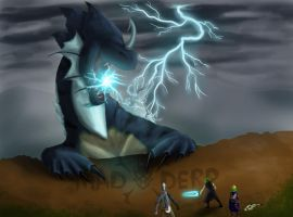 Thunderbolts of Lightning Very Very Frightening by MadDerp