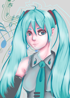 Miku Hatsune by emery-lee