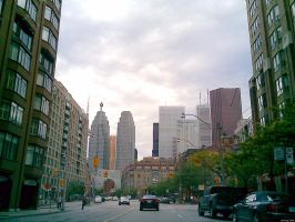Downtown Toronto by asianaphrodite