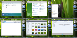Vista Beta 2 Basic Theme by Quattrophobia