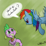 Double Rainbow . . . Dash by TwiddleChimp