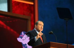 Twi and Mike Huckabee by RicRobinCagnaan
