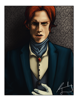 Axel Extierna -- Commission by FaerietaleWaltz