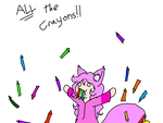 ALL the crayons!! by RikuChanTheFox
