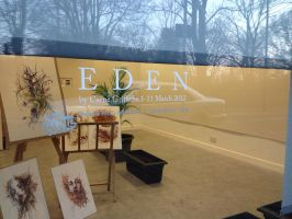 Eden - Installation Drawing Live Webcam Broadcast! by Carnegriff