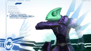 Leon Powalski Wallpaper by JECBrush