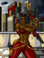 Nia Black contest color by hulkdaddyg