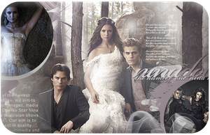 Nina dobrev - new layout by xrecherche