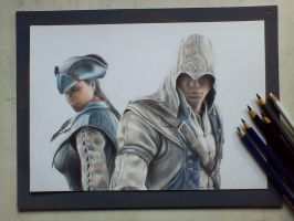 Assasinss creed Conor by Saules-dievas