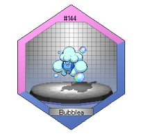 Bubblea - The Cleaning Pokemon by Zermonious