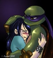 TMNT - Hugging by xSkyeCrystalx