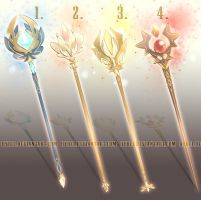 Auction : Weapon Adopt Set 18 [CLOSED] by HyRei