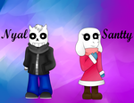 UT: Nyal and Santty by AllytheWolffy98
