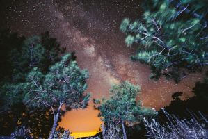 Milky Way over Troodos by sican