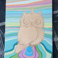 Owl wip by camilladerrico