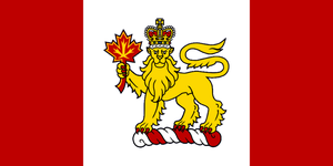 Kingdom of Canada - flag by Neethis