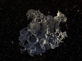 asteroid by Oxnot