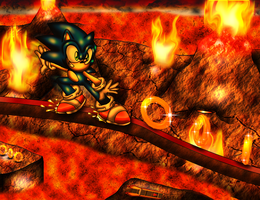 Grinding Through Flames by spdy4