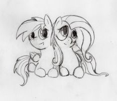 Together (No colors) by otto720