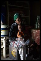 Maluti Woman and Child by TheFurryGoldfish