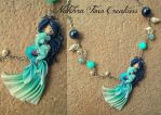 Ocean's Mermaid Polymer Clay by Nakihra